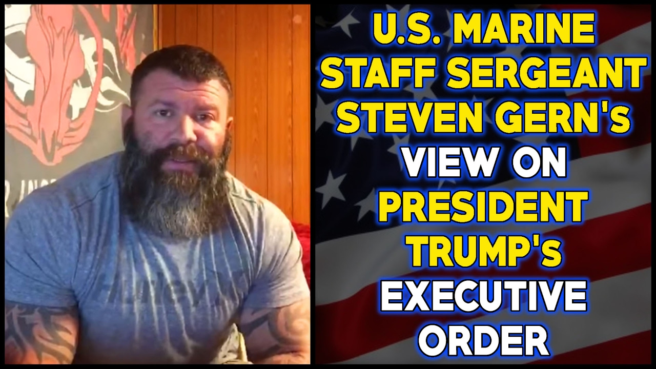 US Marine Has An Interesting Take On Trump Travel Ban